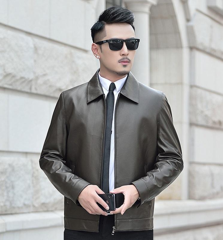 áo da xịn