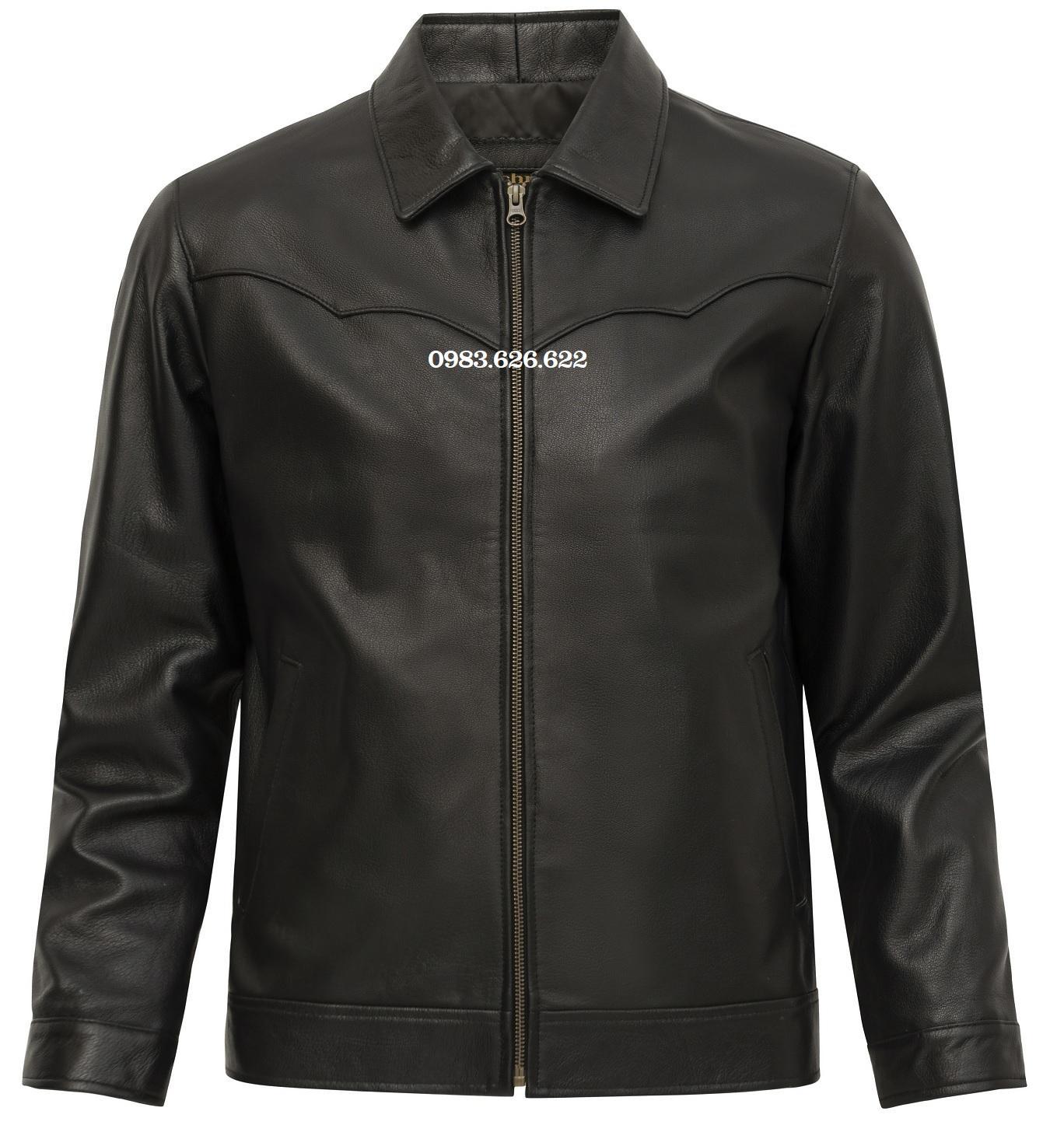 áo khoác da dê