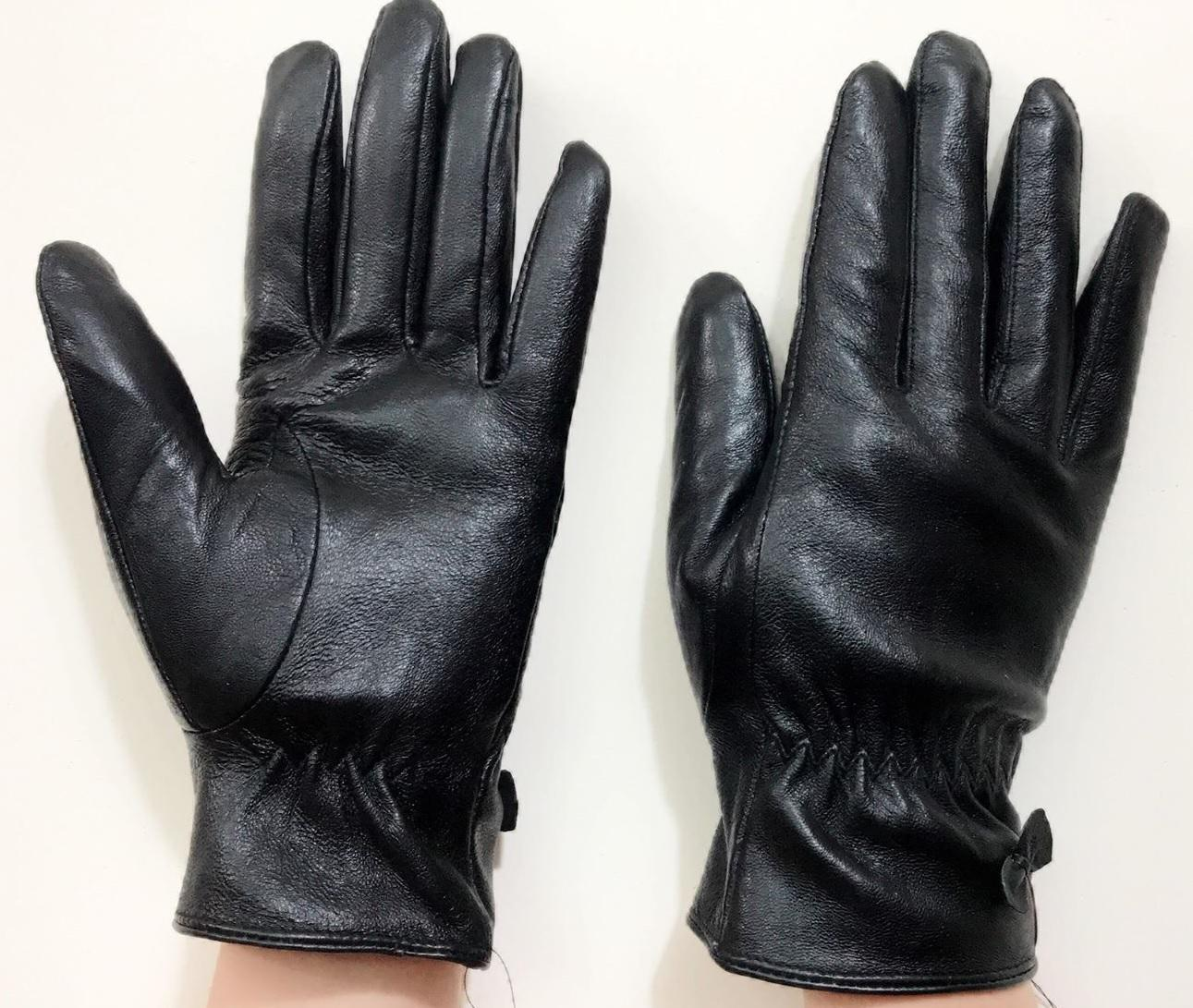 găng tay da xịn