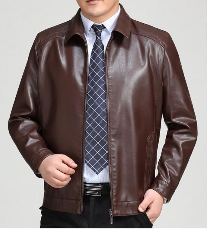 Nên mua áo khoác da thật nam hàng thùng hay hàng new 100%?