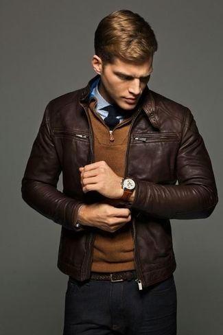 Tư vấn cách chọn mua áo da cao cấp cho người gầy đẹp nhất